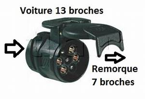 Prise 13 Broches Femelle : adaptateur voiture 13 broches vers remorque 7 broches ~ New.letsfixerimages.club Revue des Voitures