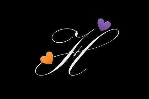 صور و خلفيات حرف h مميزة لكل من يبدأ أسمهم بحرف h