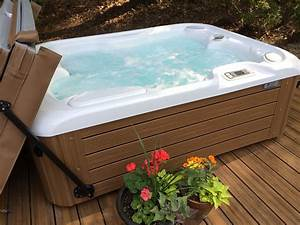 Hot Spring Jetsetter Installed By Atlantic Spas And