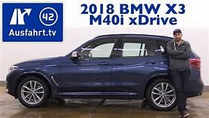 Bmw X3 Kofferraum : 2018 bmw x3 m40i g01 kaufberatung test review youtube ~ Jslefanu.com Haus und Dekorationen