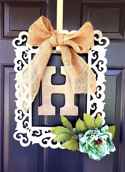 framed door wreath   michaels   ingredients  inspiration wood frame wood