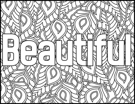 inspirational quotes coloring pages  worksheet