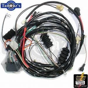 1968 Camaro Standard V8 W   Factory Gauges Front Light Wiring Harness