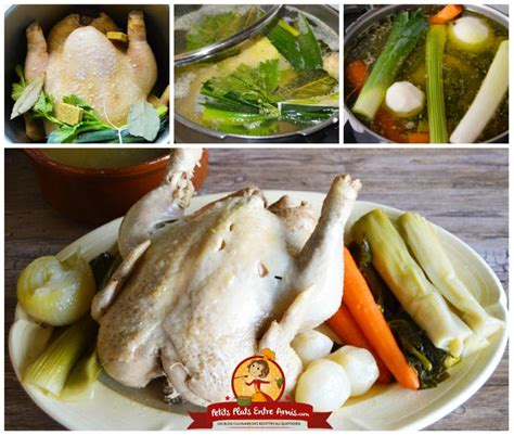 cuisson de la poule au pot recette de la poule au pot petits plats entre amis