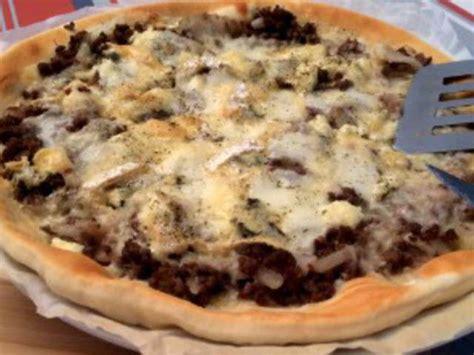 recette avec boursin cuisine recettes de boursin et pizza