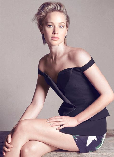 Jennifer Lawrence At Christian Dior Photoshoot Celebzz