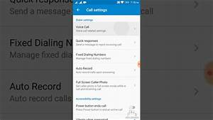 How To Set Call Forwarding  U0026 Call Wating Settings On
