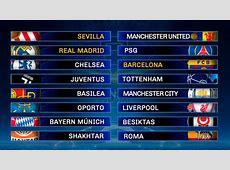 Un sorteo de Champions League que da miedo ¡Real Madrid