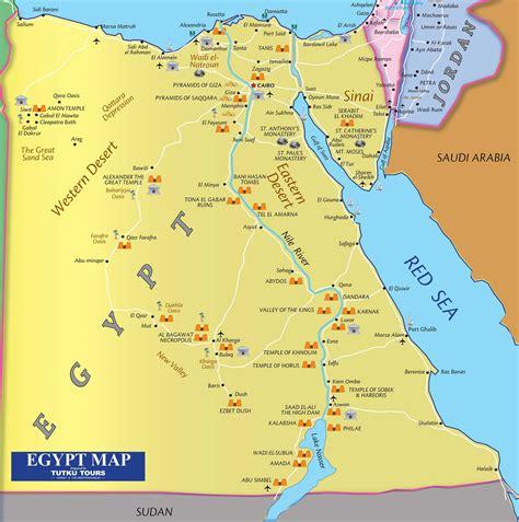 tutku tours egypt maps