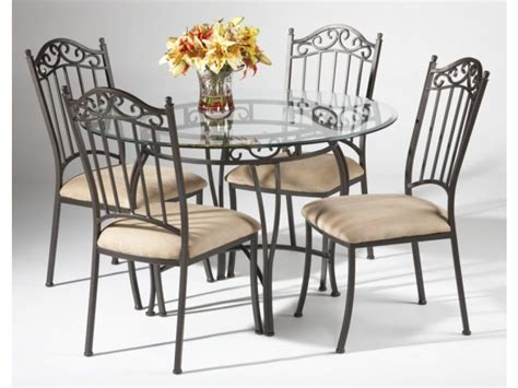 Table Sets Wrought Iron by Black Wrought Iron Table And Chair Sets 48 Quot