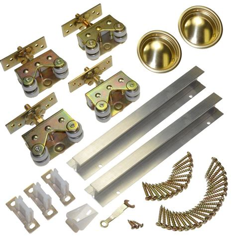 bypass door hardware johnson doors l e johnson wall mounted sliding doors