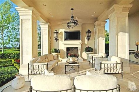 french chateau traditional patio los angeles