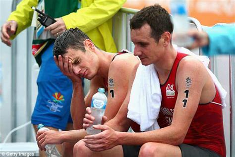 Alistair brownlee men's triathlon gold medal stamp. Brownlee brothers surprisingly finish outside the medals ...