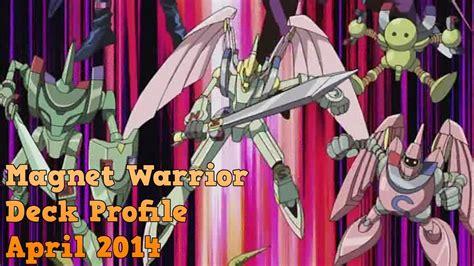 Yugioh Magnet Warrior Deck April Youtube