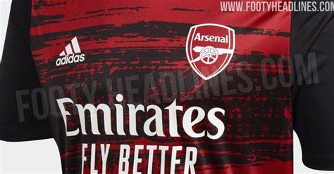 bold adidas arsenal   pre match kit leaked footy