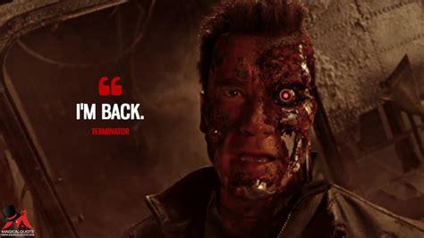 powerful quotes  terminator films magicalquote