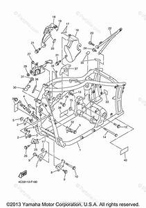 Yamaha Motorcycle 2007 Oem Parts Diagram For Frame