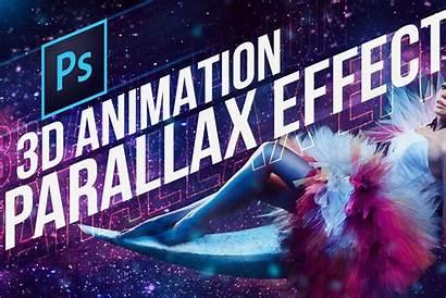 3d Parallax Effect Photoshop Animation Tutvid Tutorial