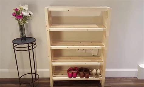 tutoriel fabriquer  meuble  chaussures