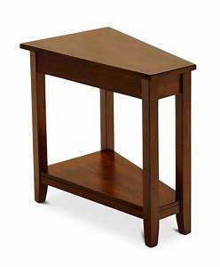 Angled Chairside Table HOM Furniture