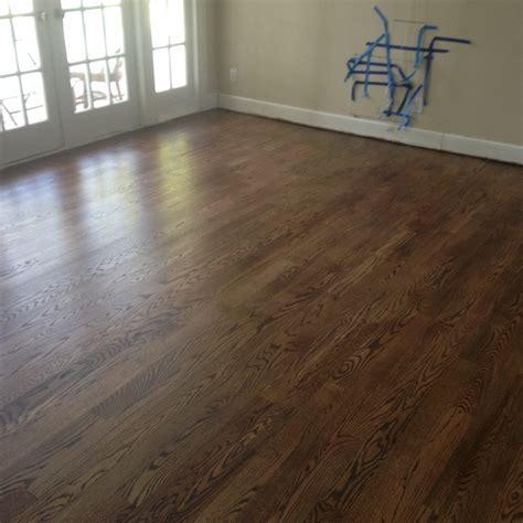 Wood Floor Repair, Sand and Stain in Ponte Vedra FL