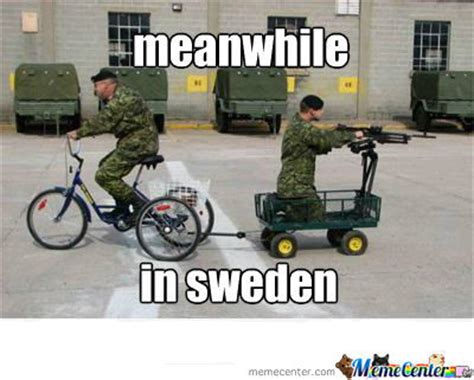Sweden Meme - the proud swedish home army by kickassia meme center