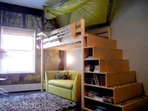 Diy Loft Bed With Closet Underneath by 9 Storage Solutions For Small Spaces Storage Loft Bed