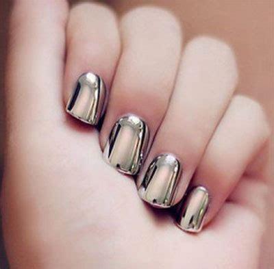 chrome nail designs 15 amazing silver mirror nail designs ideas 2017