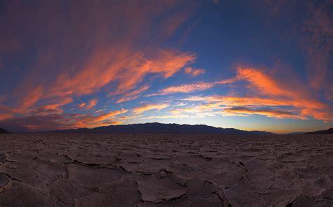 Ground Cracked Sunset Landscape Wallpaper 1920x1200