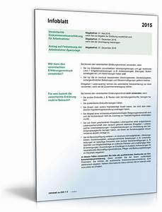 Einkommensteuererklärung 2015 Berechnen : anleitung vereinfachte einkommenssteuererkl rung f r arbeitnehmer ~ Themetempest.com Abrechnung