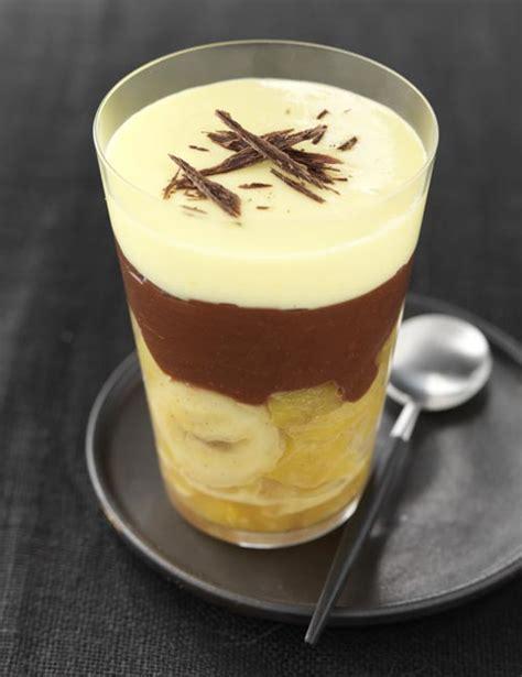 recette dessert en verrine verrines ananas banane ganache choco et mousse mangue frigoandco actualit 233 s culinaires