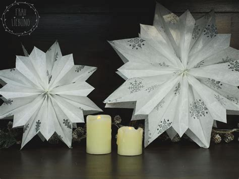 diy weihnachtsstern aus papiertueten handmade kultur