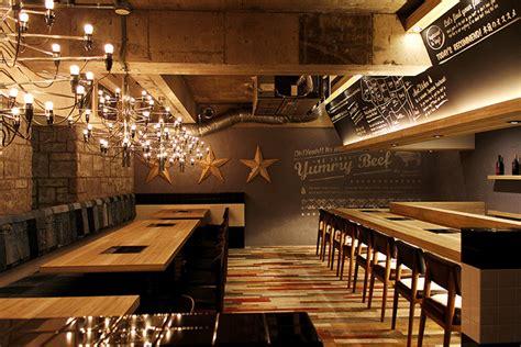 interior design restaurant yakaniku sakamoto restaurant by design office dress