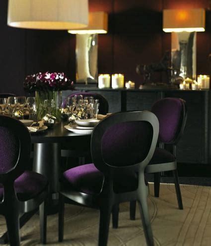 purple dining chairs design ideas