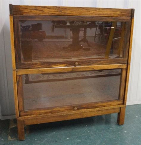 Lundstrom Bookcase by Antique Lundstrom Oak Stacking Barrister Bookcase Height 37