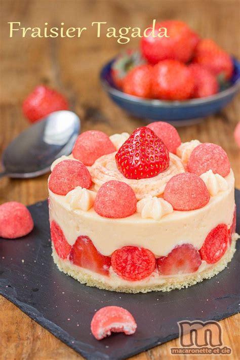 17 meilleures id 233 es 224 propos de gateau fraise tagada sur recettes de macarons
