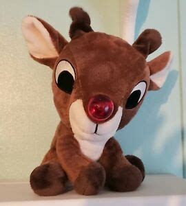 """Show me the light lloyd, debby lytton rudolph the red nosed reindeer good times. Plush 9"""" Light Up Music Rudolph The Red- Nosed Reindeer ..."""
