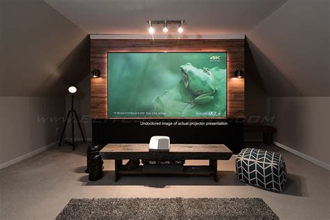 aeon clr series short throw projector screen elite