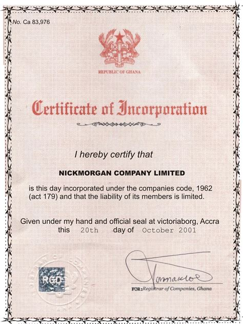 company registration form ghana economy of ghana