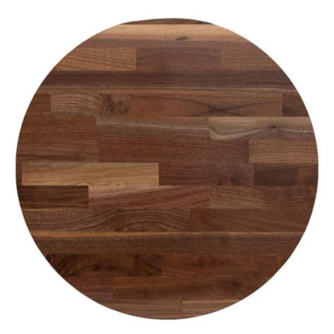 round butcher block table top table tops walnut blended butcher block table top round