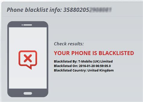 is my phone blacklisted imei blacklist checker work wonders