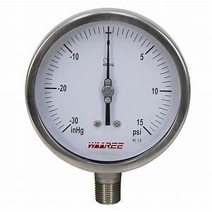 30 Psi 5 U0026quot  Vacuum  Pressure Gauge