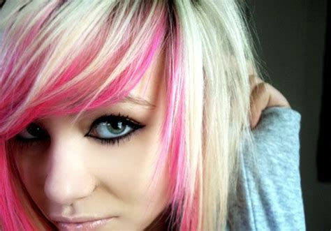 25+ Best Ideas About Colored Hair Streaks On Pinterest