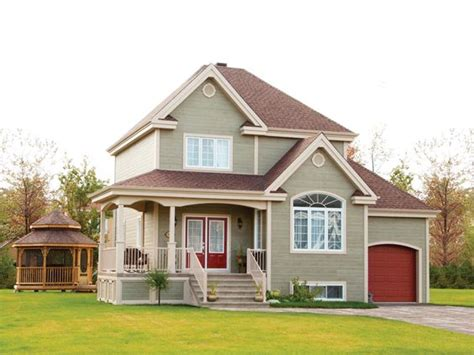 small country accent ls country homes red accents and garage doors on pinterest