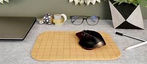 un tapis de souris design pour un deco de bureau With tapis de souris scandinave