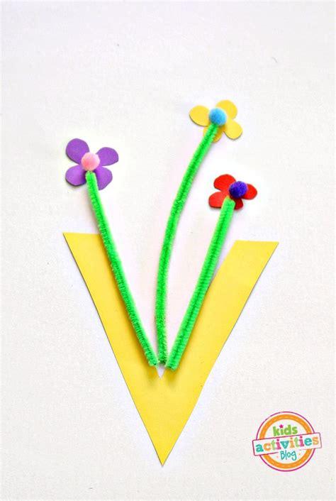 vase letter  craft