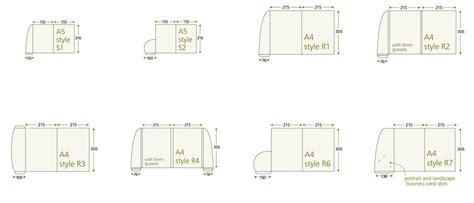 a5 interlocking folder template folder templates king s lynn printers business card