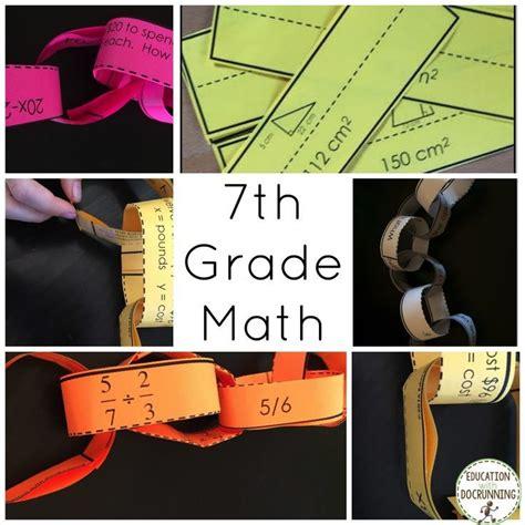 grade math activities paper chains bundle probability