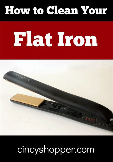 how to clean iron how to clean your flat iron cincyshopper