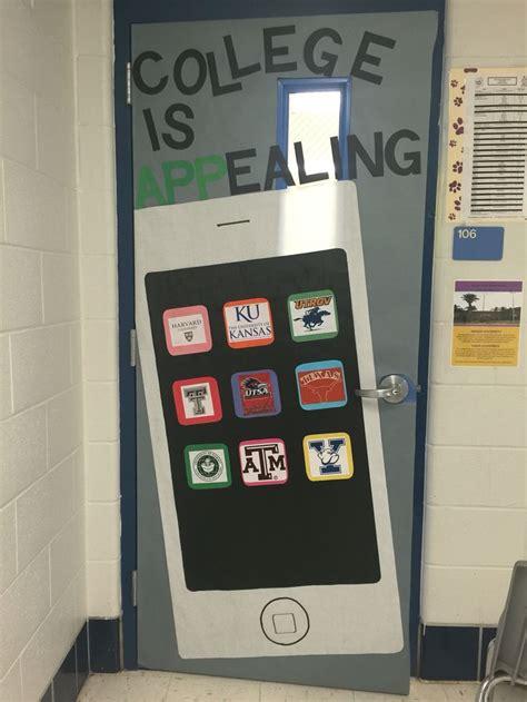 college week door decoration images  pinterest
